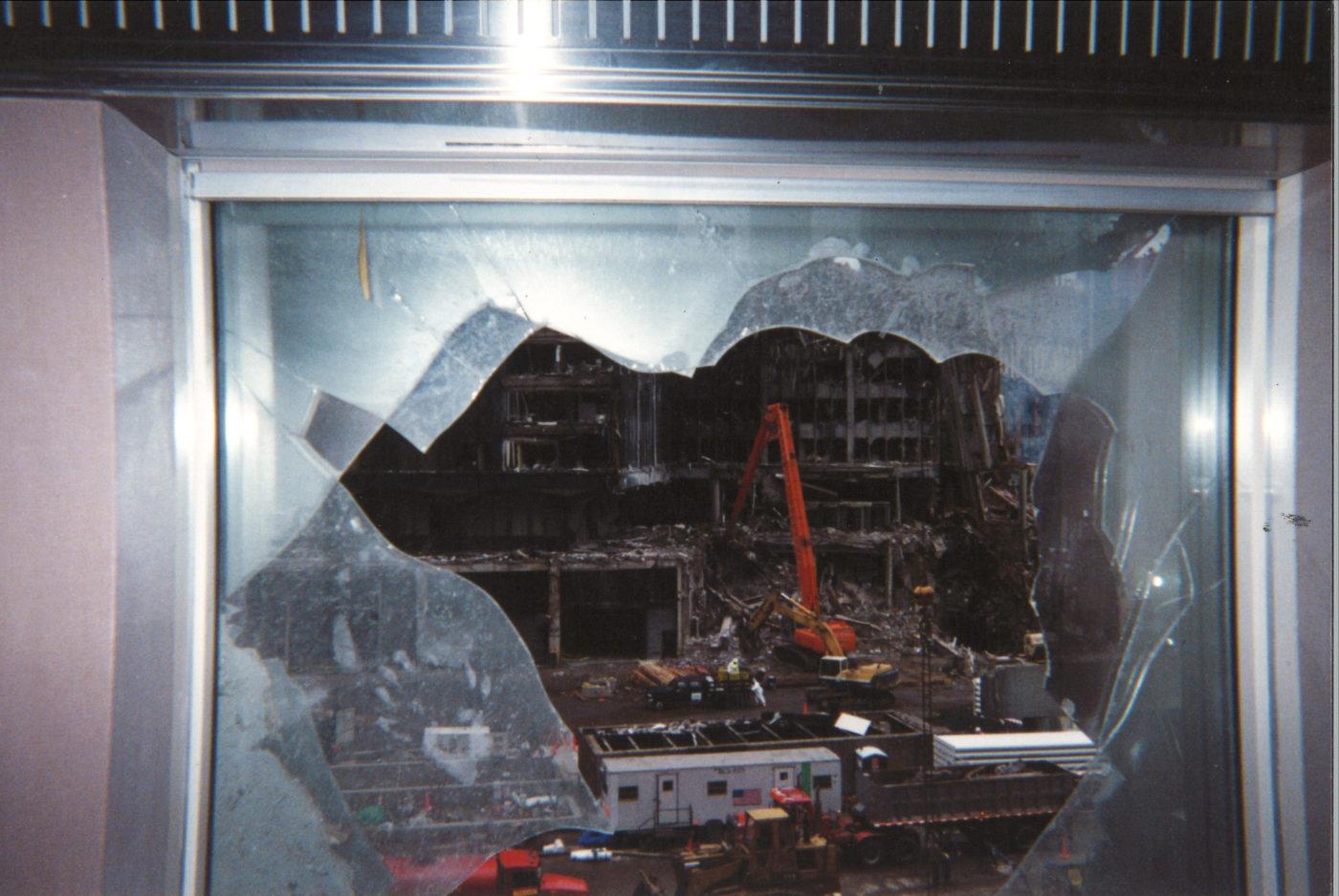 Ground Zero from 200 Vesey