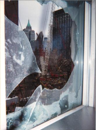 Ground Zero from window at 200 Vesey