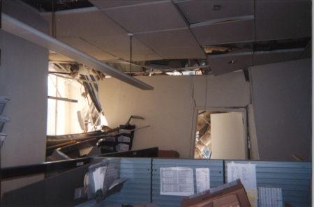 Interior Damage at 200 Vesey Street
