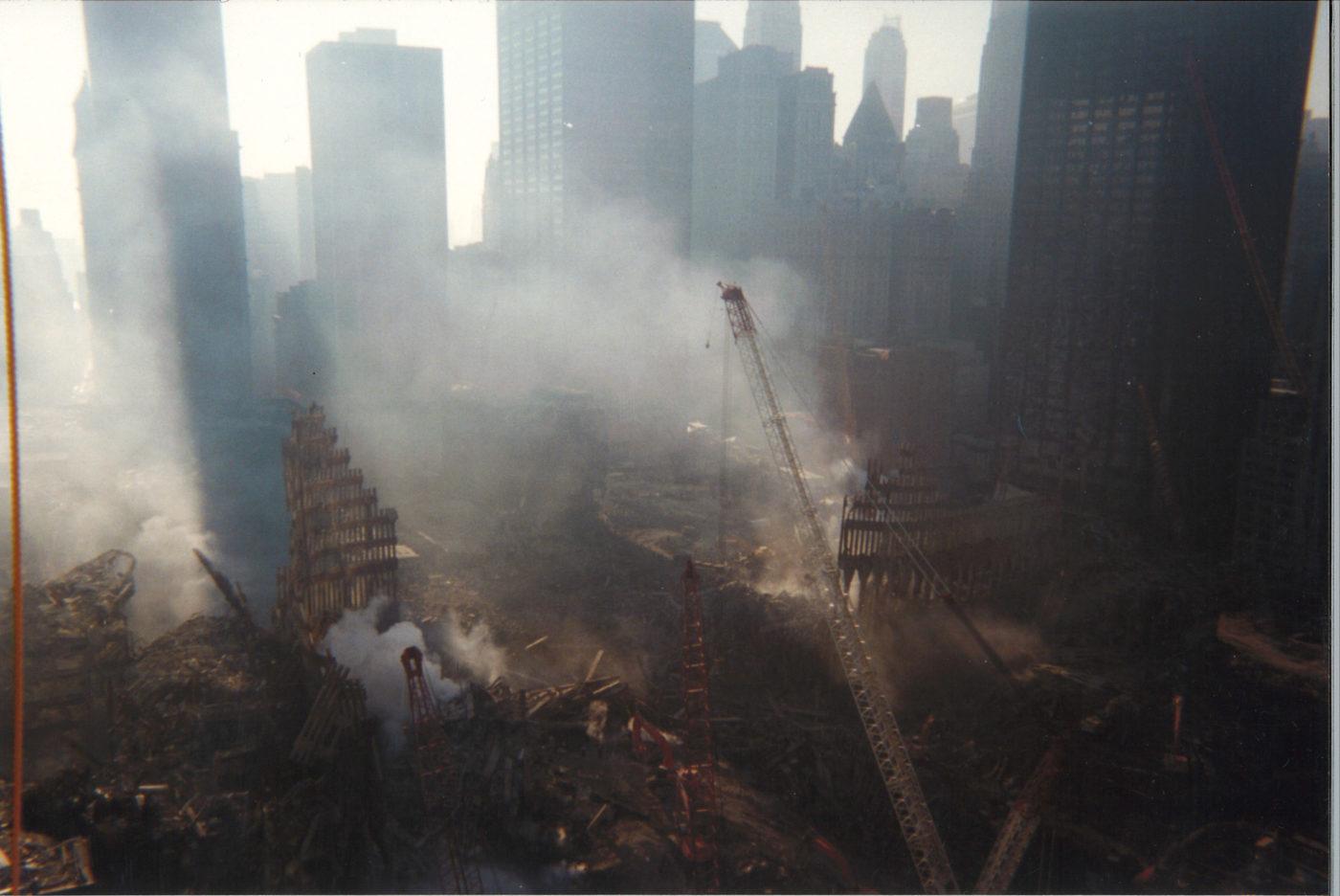 Overlooking Ground Zero from 200 Vesey (2)