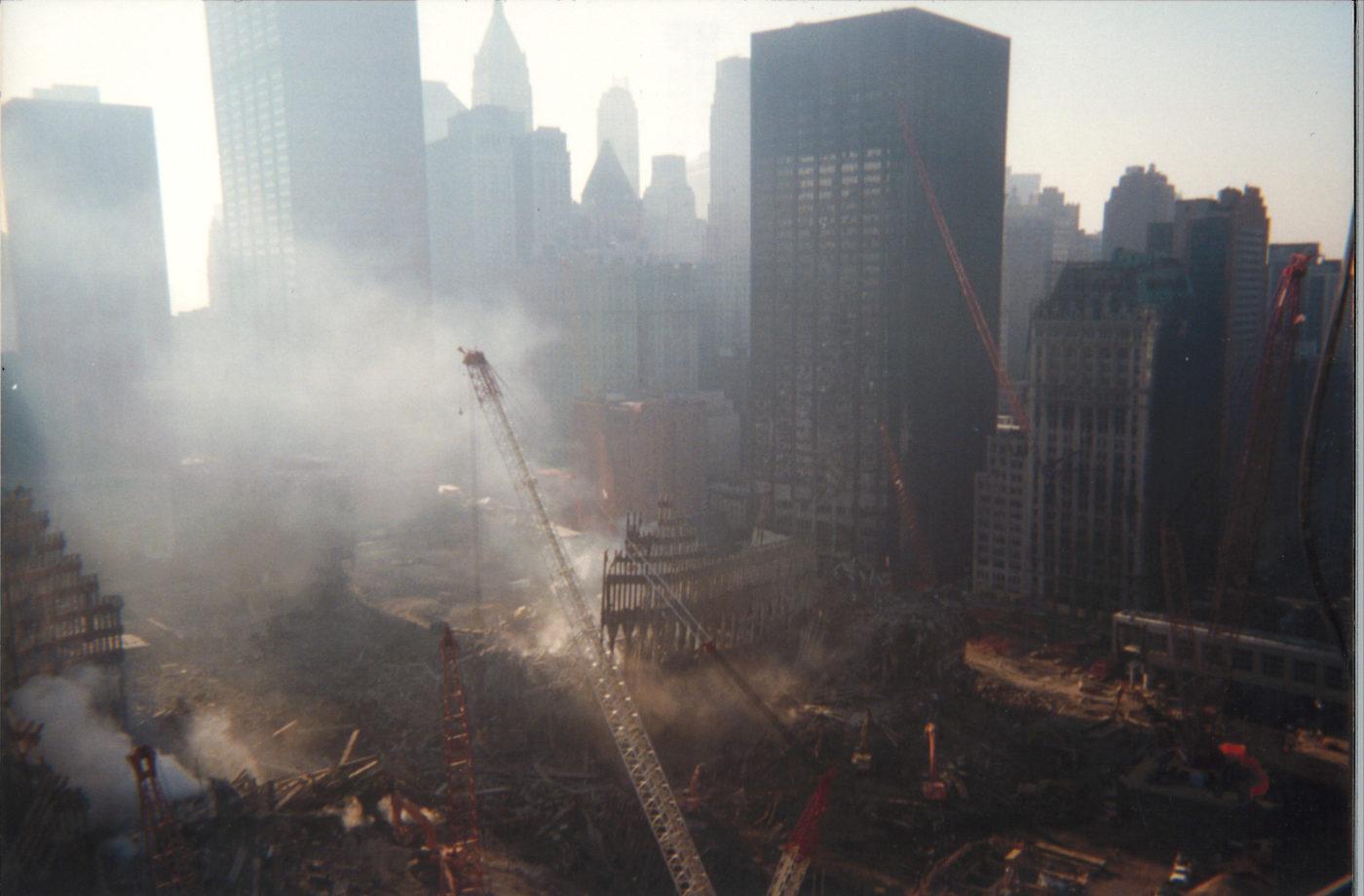 Overlooking Ground Zero from 200 Vesey (3)