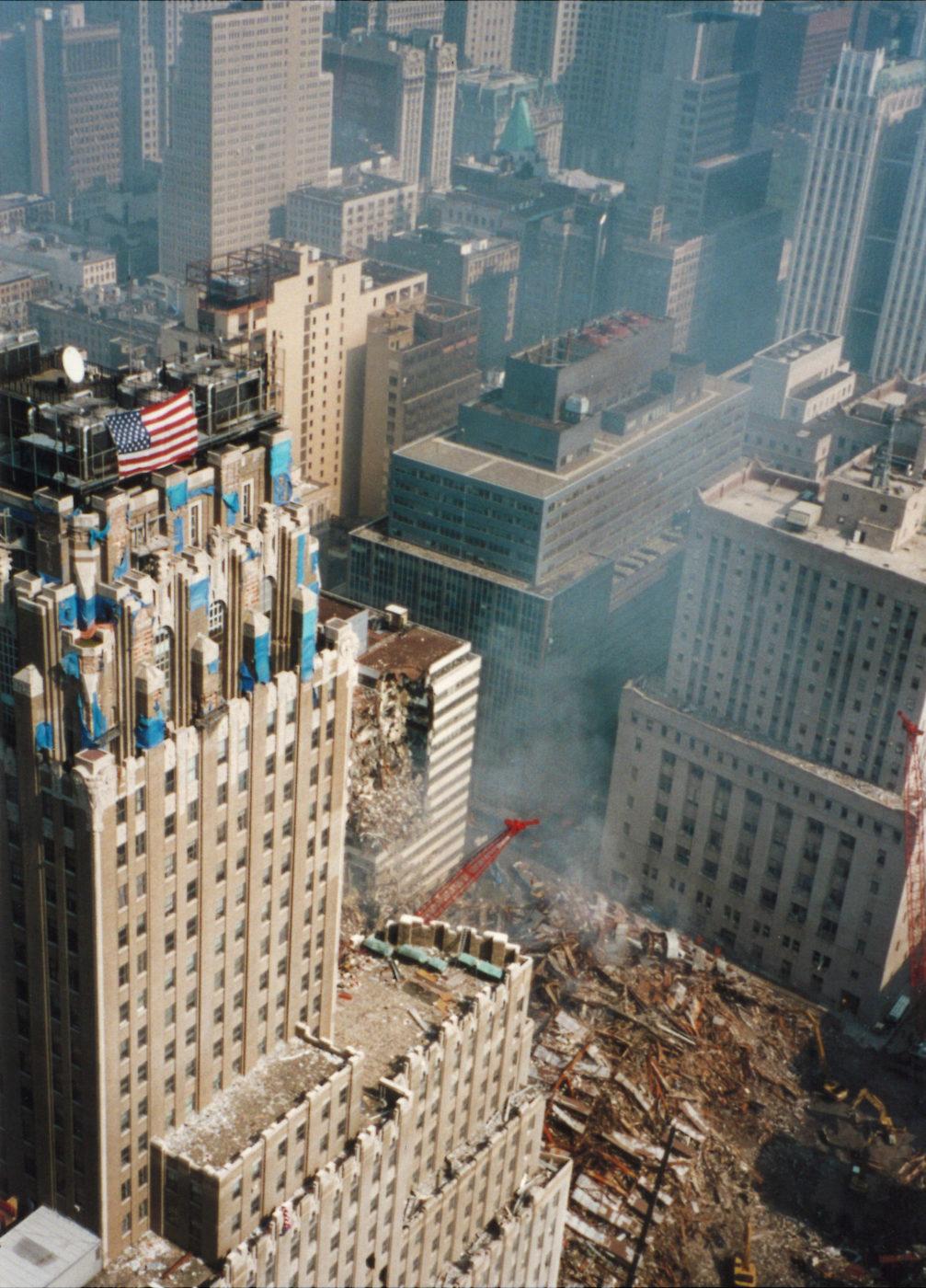 Overlooking Ground Zero