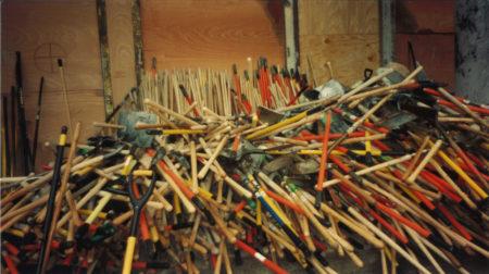 Pile of Shovels at Ground Zero