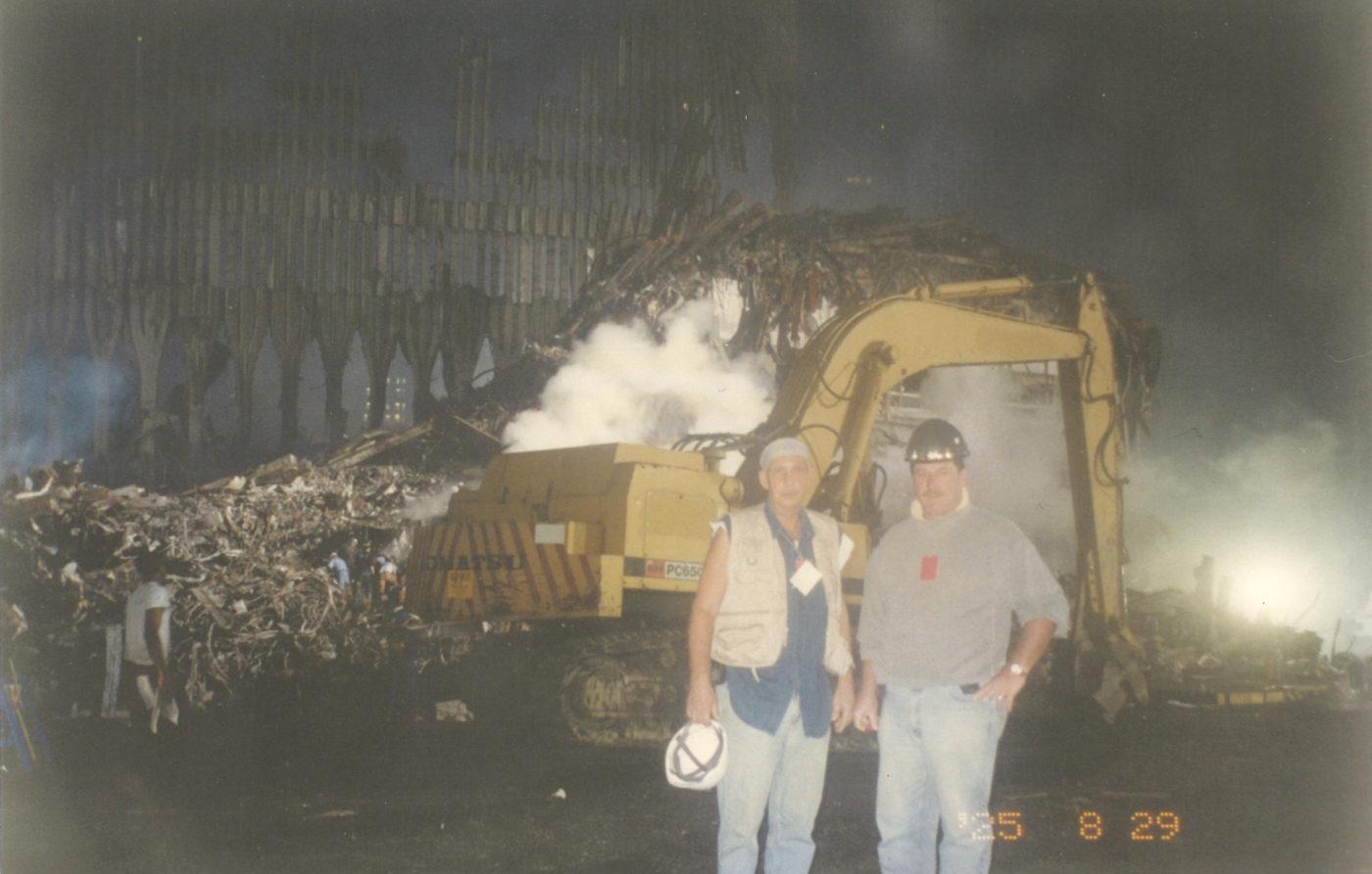 Sonny (left) at Ground Zero