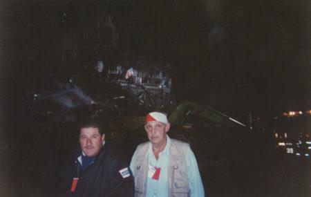 Sonny (right) at Ground Zero