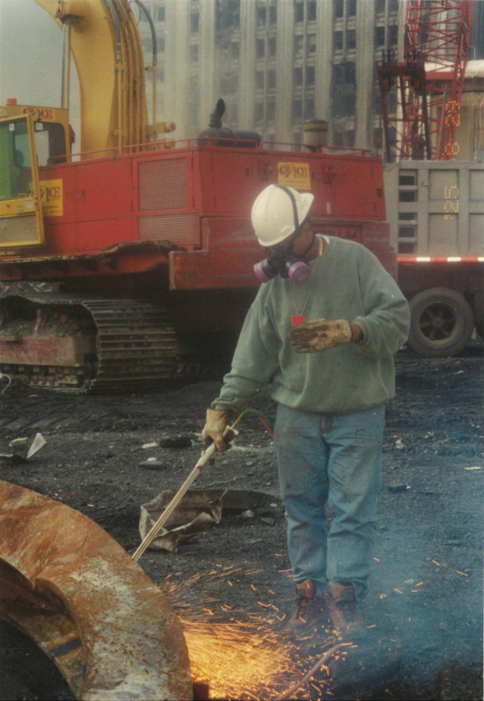 Worker at Ground Zero (2)