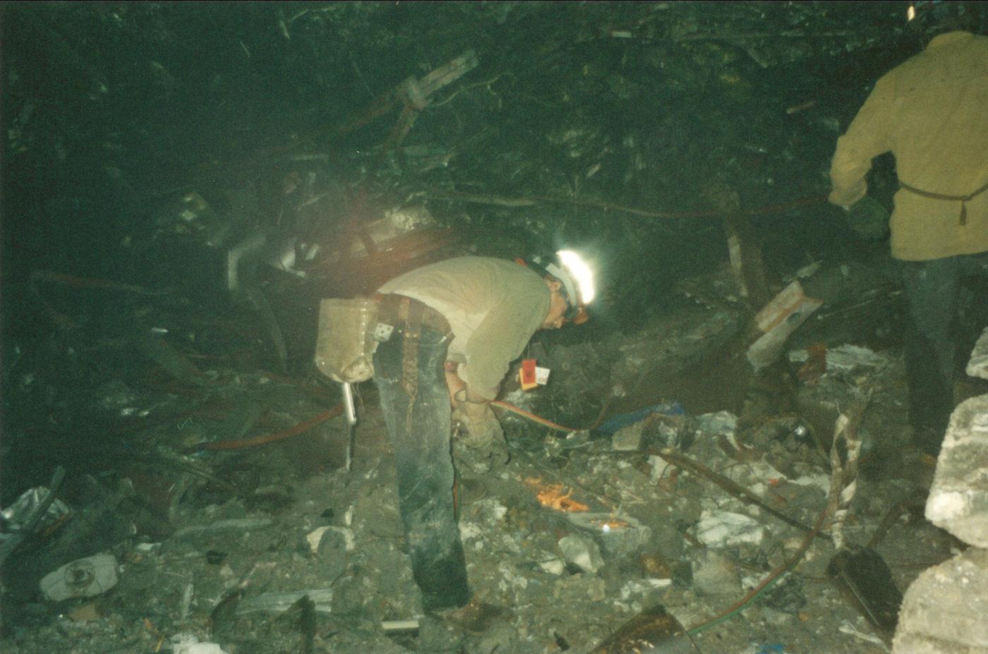 Worker at Ground Zero