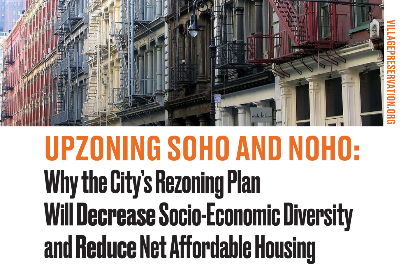 Upzoning SoHo/NoHo Report, March 2021, cropped cover