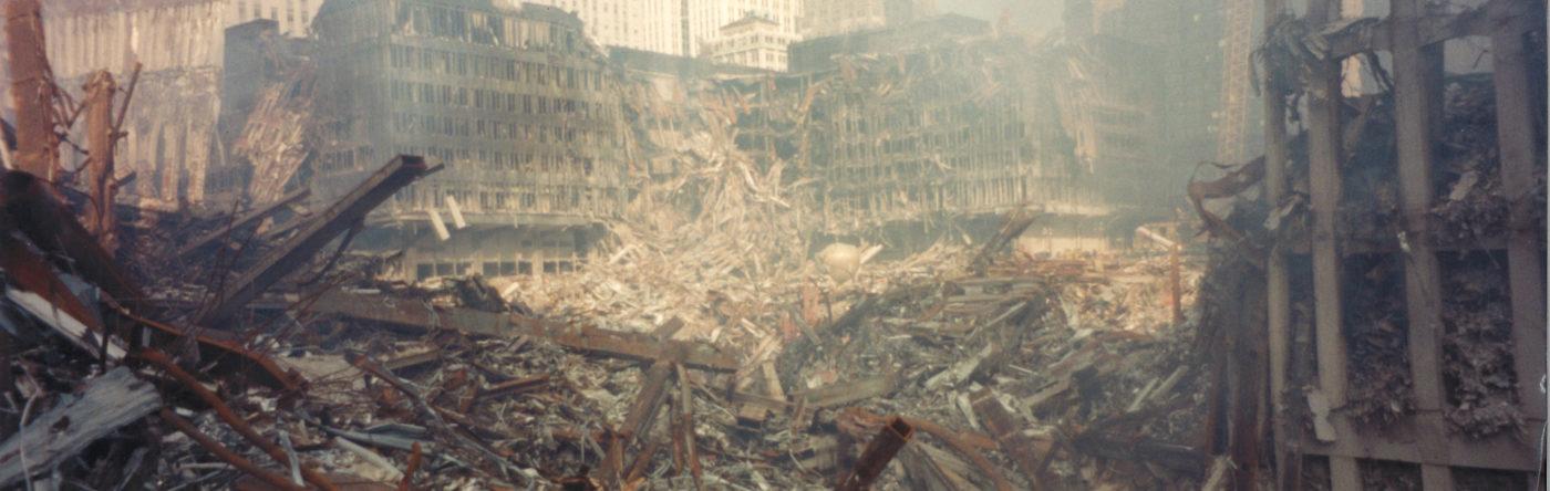 Debris and Destruction at Ground Zero