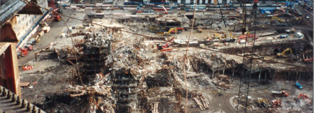 Excavation Progress Visible at Ground Zero