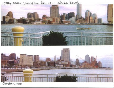 July 2001 beside October 2001