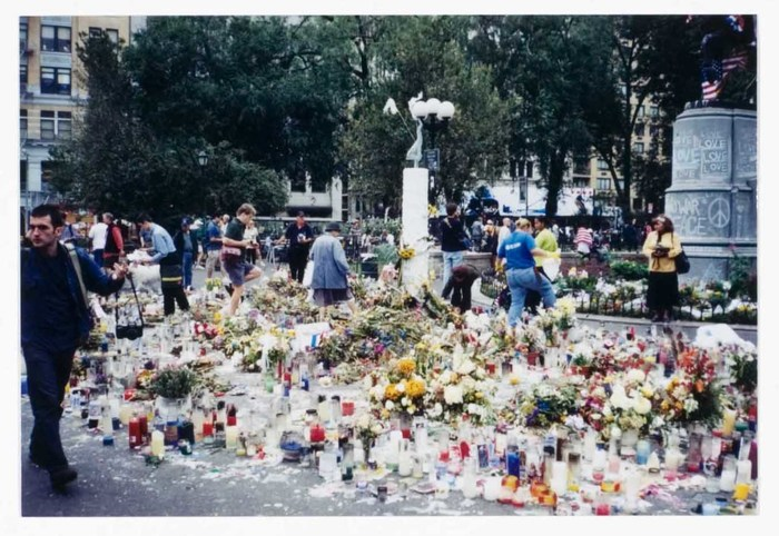 World Trade Center Memorial at Union Square Park