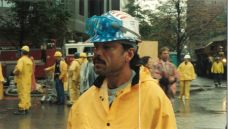 An Unknown Worker in the Rain from Bovis