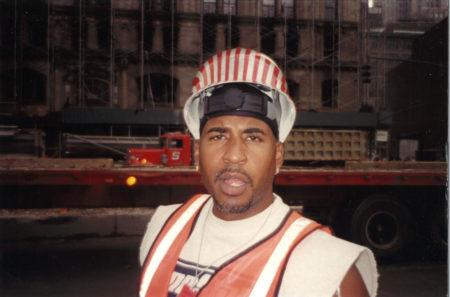 Closeup of an Unknown Worker at Ground Zero