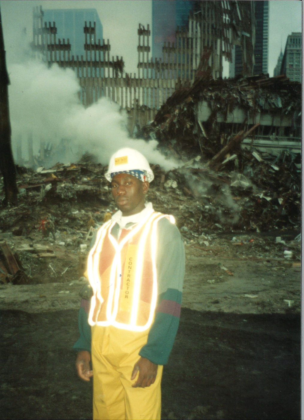 Closeup Shot of Unknown Worker in a Highvis Jacket
