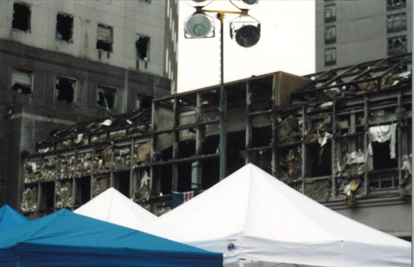 Damaged 200 Vesey Street