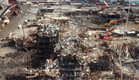 Destroyed Skeleton of WTC Towers