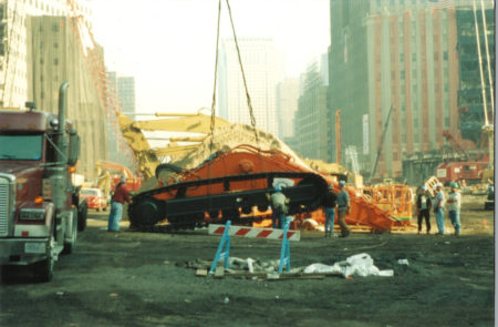 Digger at Ground Zero