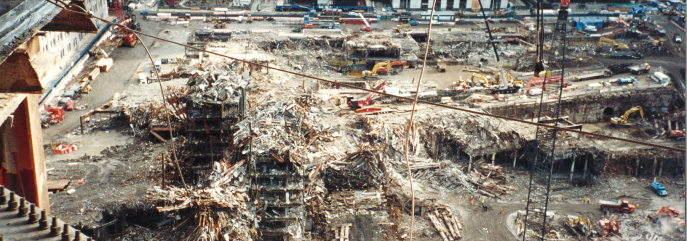 Falling Frame and Destruction of the WTC