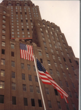 Flags at 140 West Street