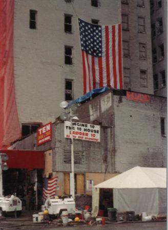 Ladder 10 _ Engine 10 at 124 Liberty Street