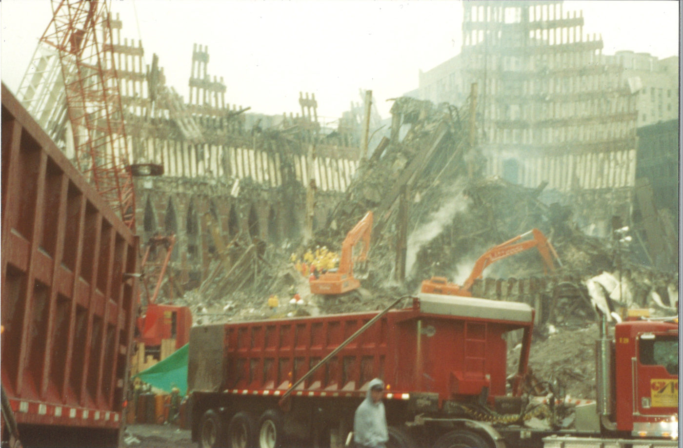 Large Skips being loaded at Ground Zero