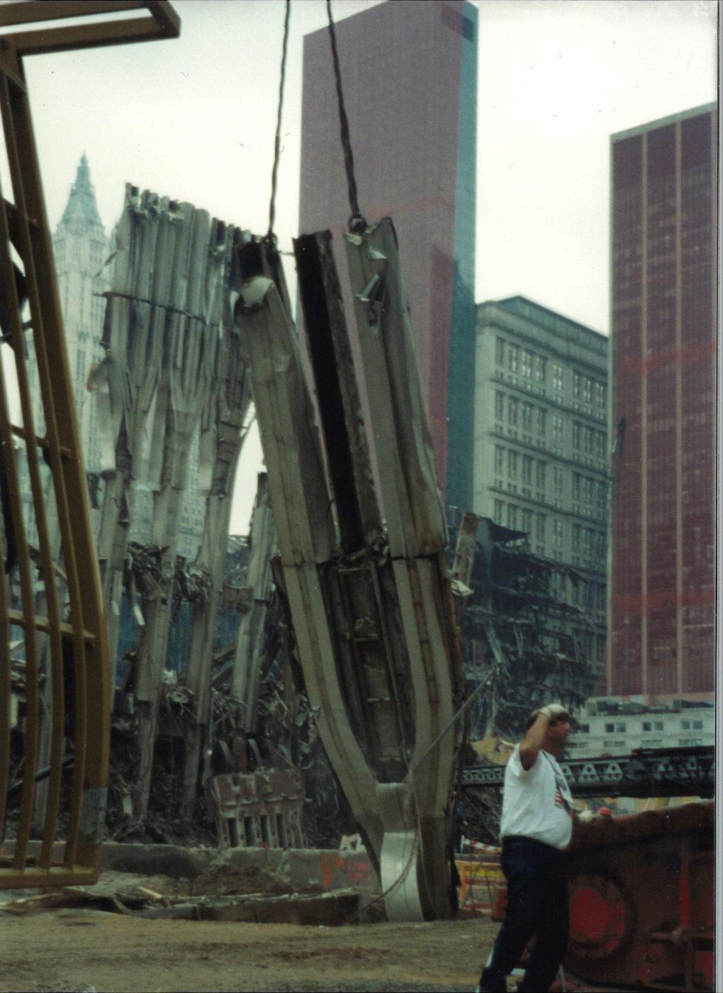 Moving Pieces of the Exoskeleton at Ground Zero