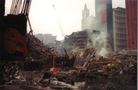 Remains of 5 WTC