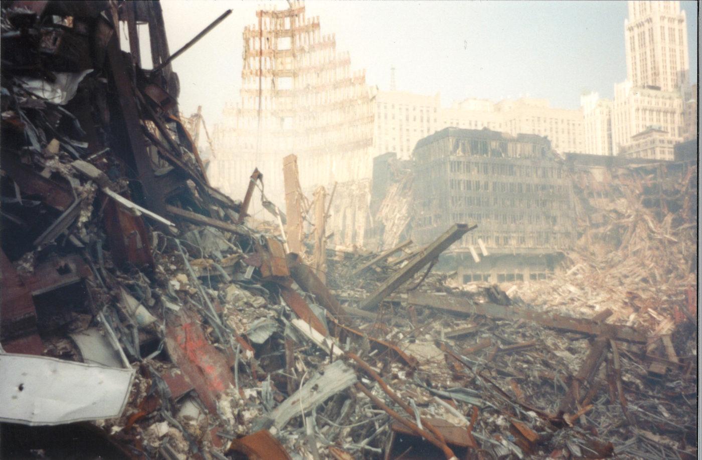 Rubble and Debris at Ground Zero (2)