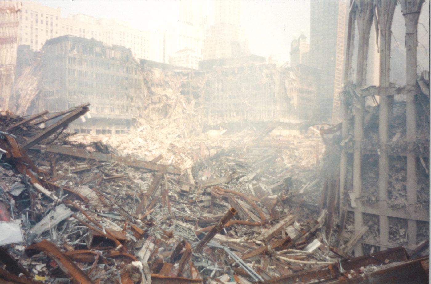 Rubble and Debris at Ground Zero