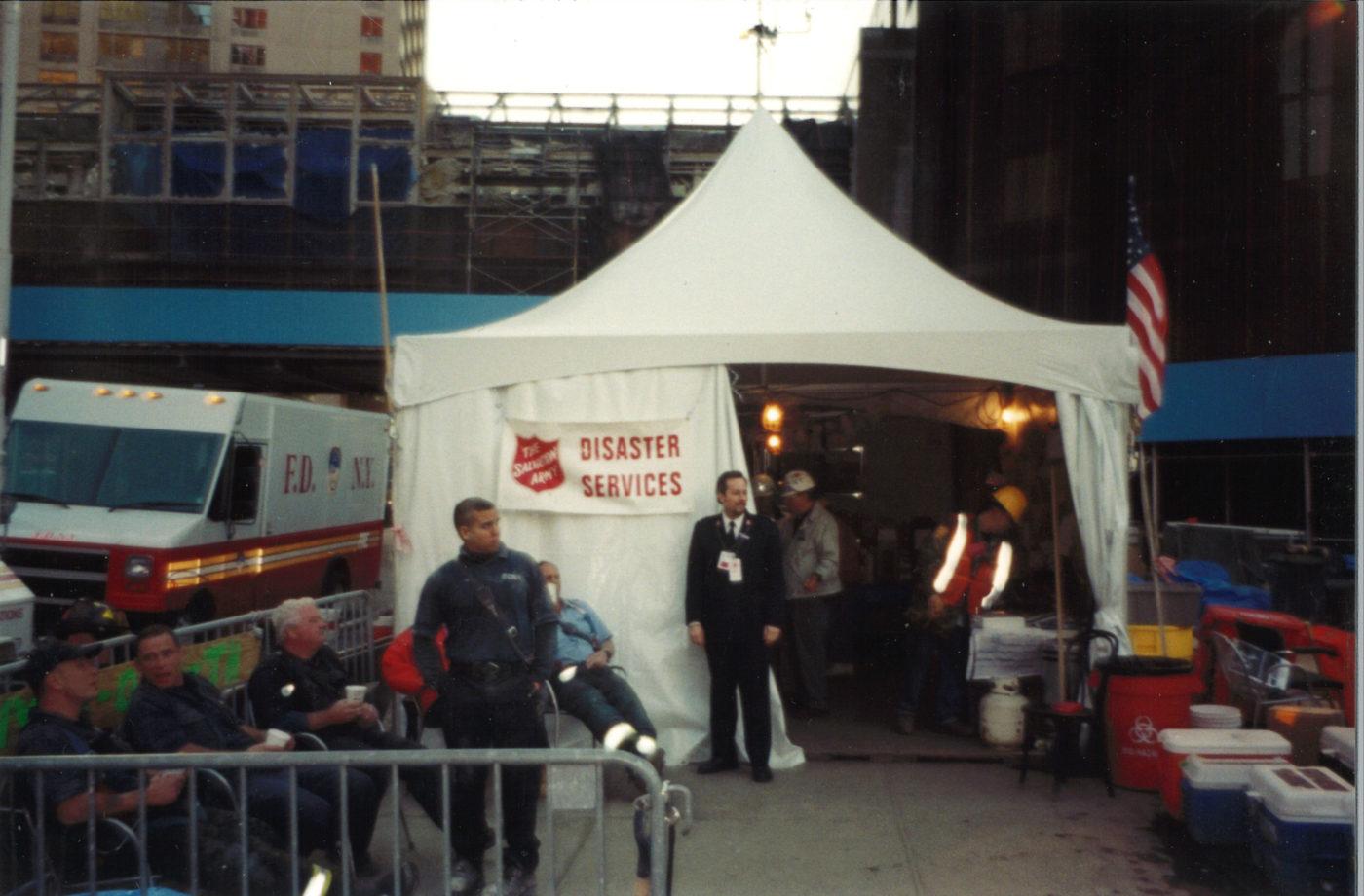 Salvation Army Tent at Ground Zero