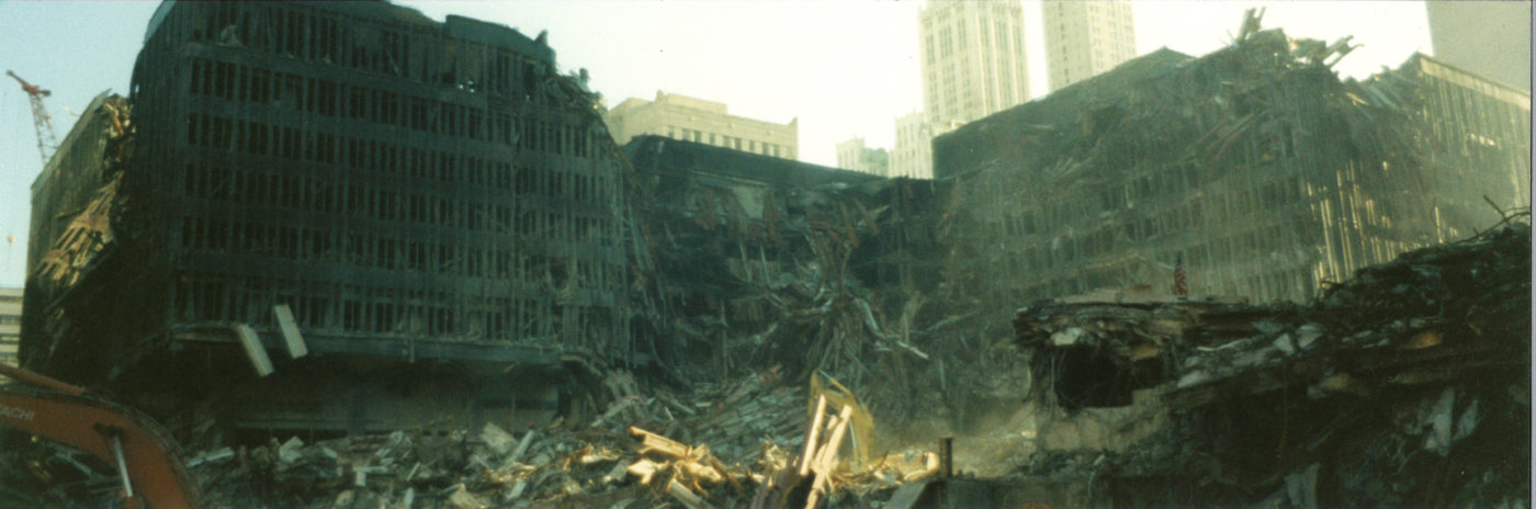 Shot of Destroyed WTC 5