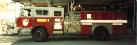 Squad 1 Fire Truck at Ground Zero