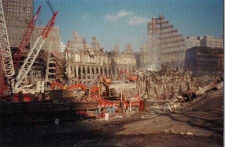 Sun Shining on Work at Ground Zero