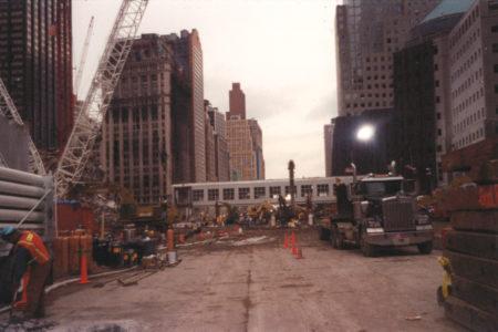 Trucks at Ground Zero