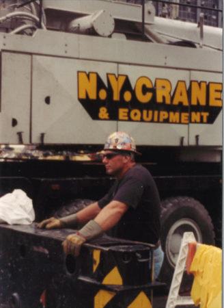 Unknown construction worker