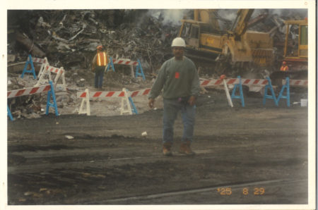 Unknown worker at Ground Zero