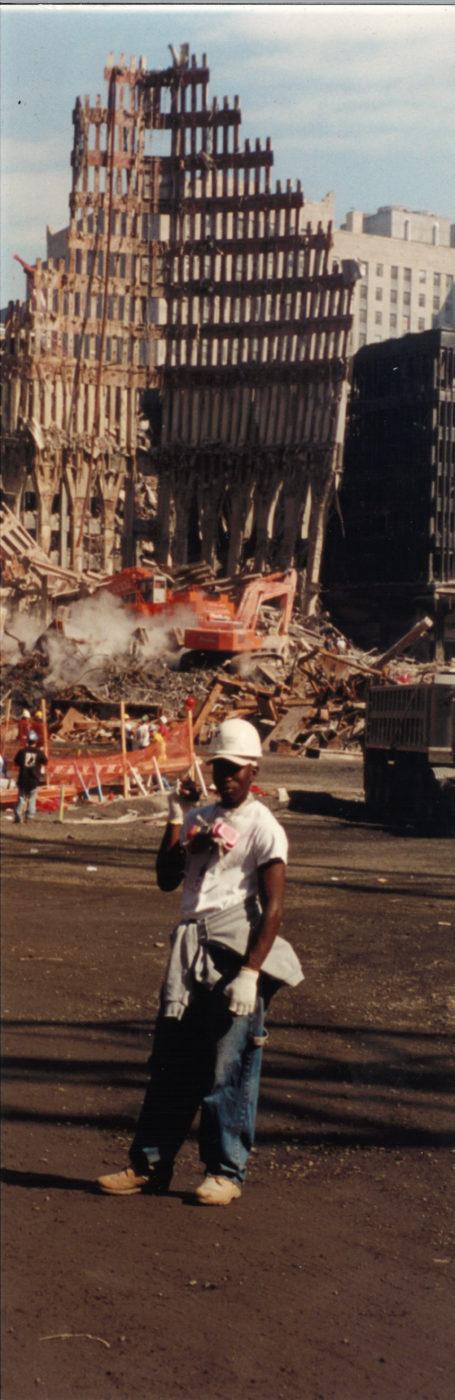 Unknown Worker Standing at Ground Zero