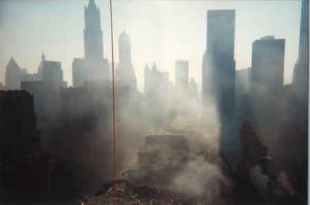 View from Ground Zero Impacted by Smoke