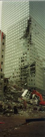 View of Destruction at 200 West St