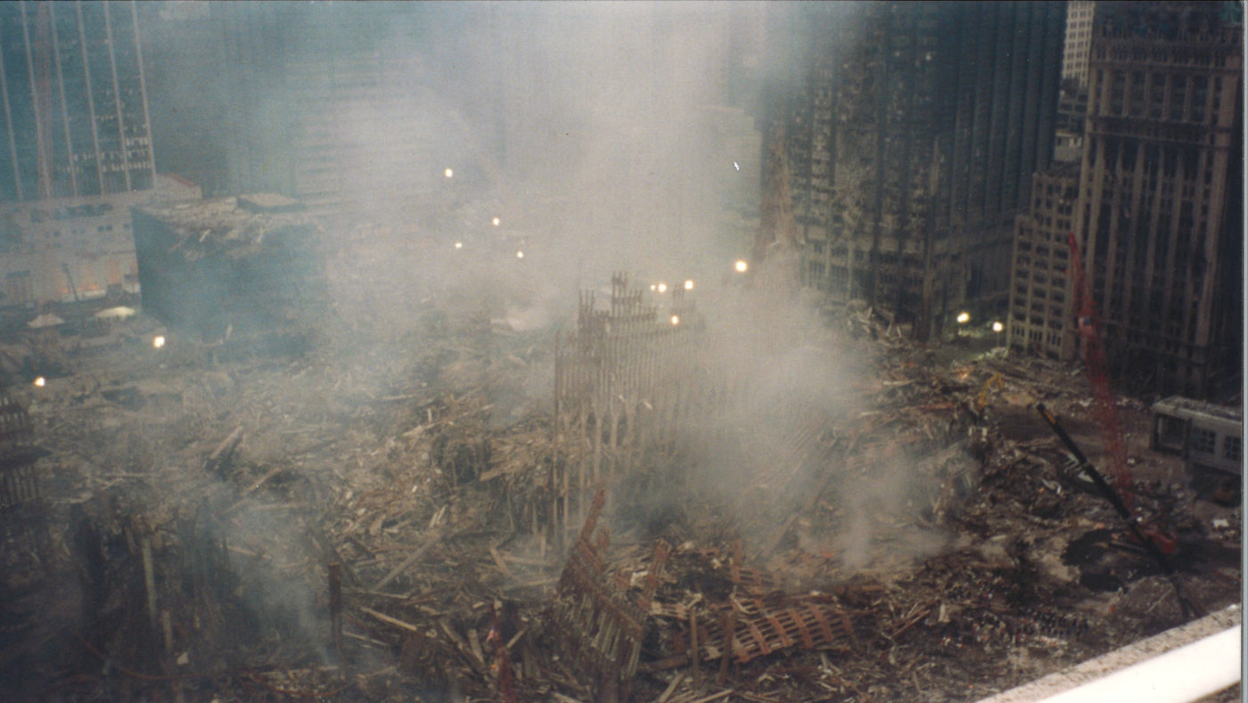View of Smoke at Ground Zero