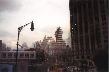 View of the Falling Frame from West Street