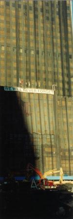 We Will Never Forget Signon Deutsche Bank Building.