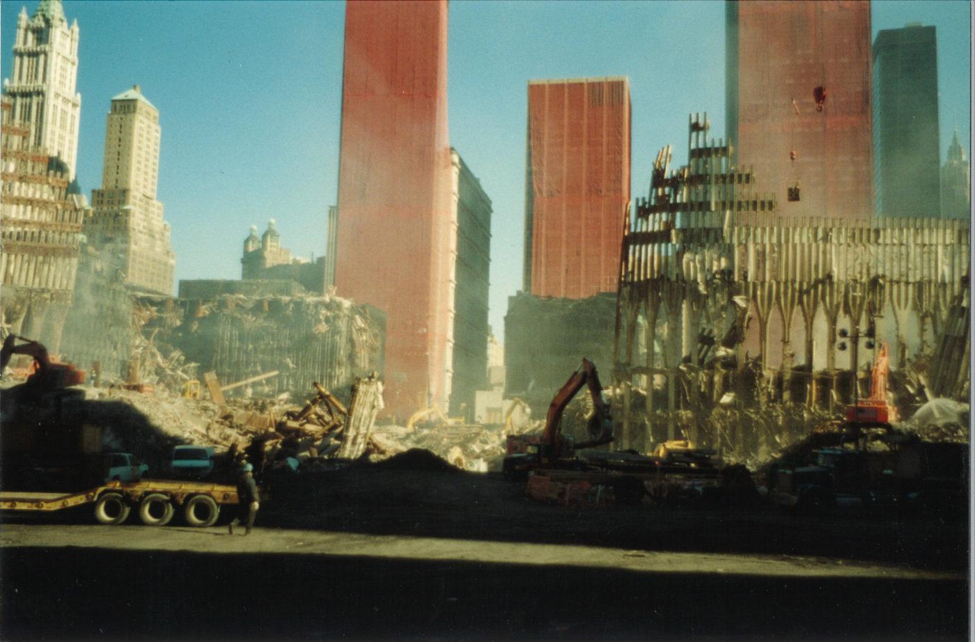 Work to Clear Ground Zero