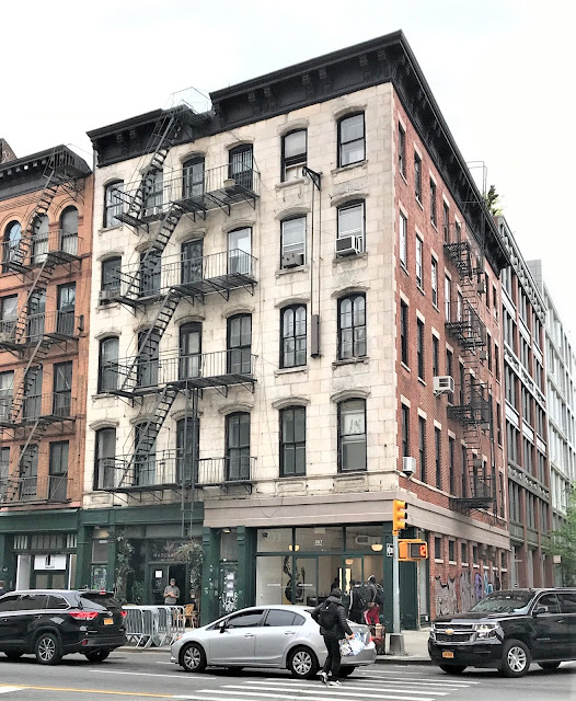 357-359 Canal Street in May 2021. Photo courtesy the Daytonian in Manhattan.