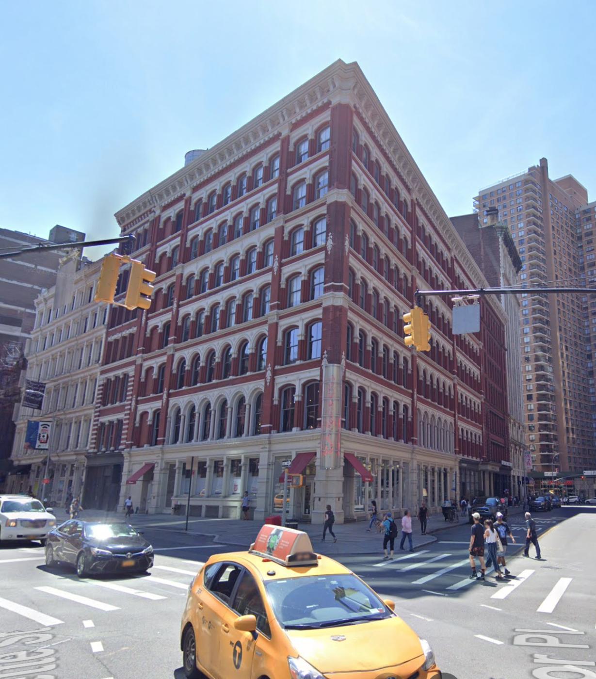 442 Lafayette Street circa 2019 via Google Maps.