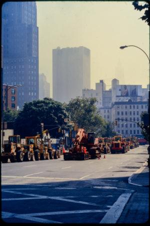 Bulldozers and Excavators Line the West Side Highway.jpg