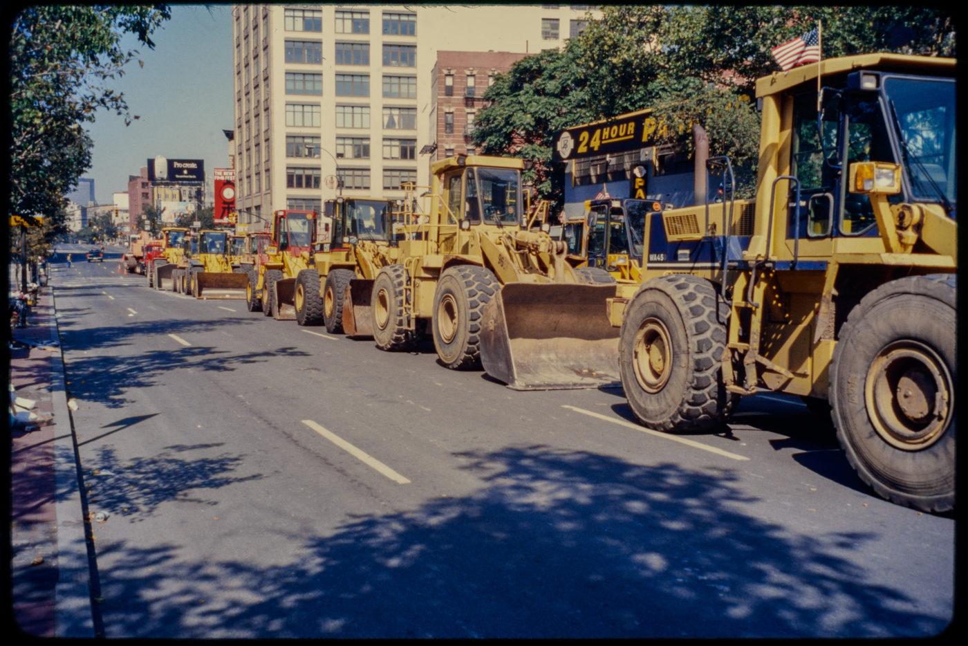 Bulldozers Line the West Side Highway.jpg