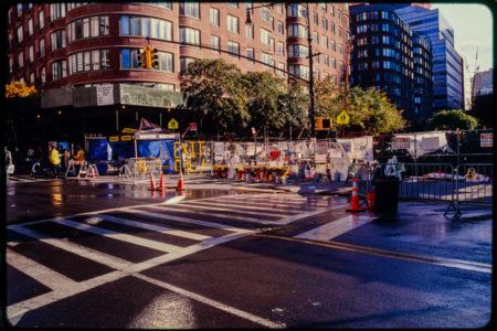 Construction on Chambers and Hudson Streets, Facing Northeast Corner.jpg