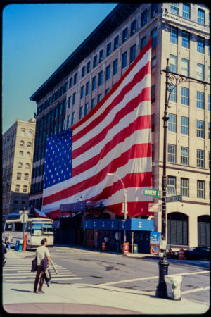 Enormous American Flag Pictured at Hubert and Greenwich Streets.jpg